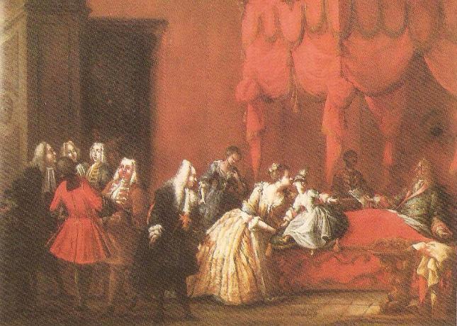 Ο Μ�γας Δουξ της Τοσκάνης κυβερνούσε από το κρεβάτι του