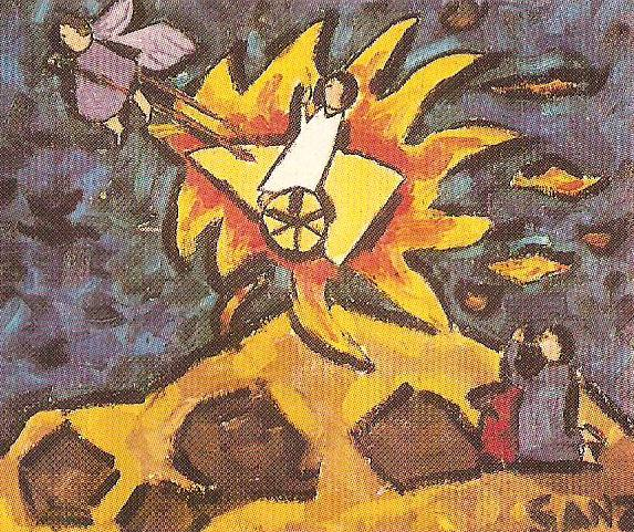 Το άρμα του προφήτη Ηλία (Καρολίνα Σανθ 8 χρ. Μαδρίτη Ισπανία)