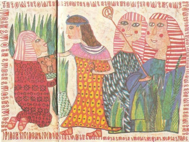 Η σωτηρία του Μωυσή στον Νείλο (Σαμπίν Μπράγιερ 8 χρ. Βιένη Αυστρία)